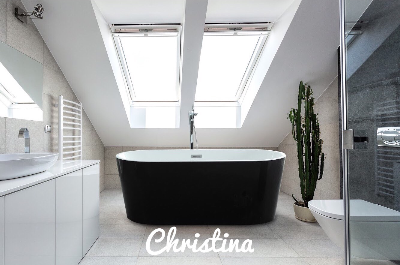 Drop in bathtub? Nope, Freestanding is IN ! - 90210 Kitchen & Bath